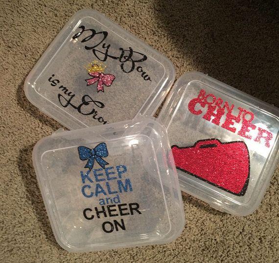 Cheer bow box