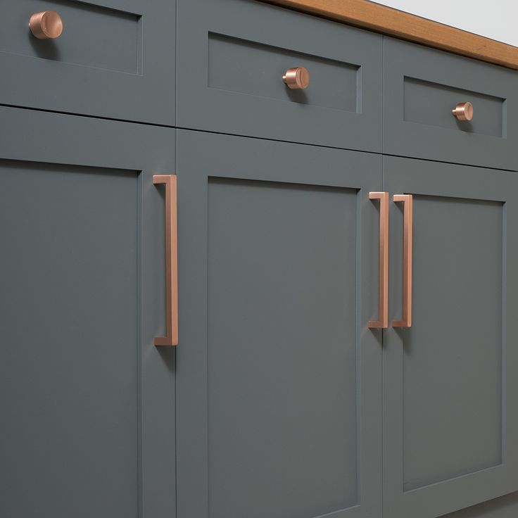 Beautiful Matte Black Cabinet Pulls