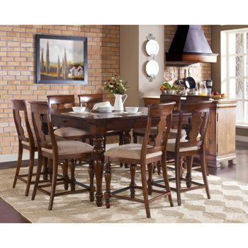 Costco dining sets and tables on pinterest - Costco dining room set ...