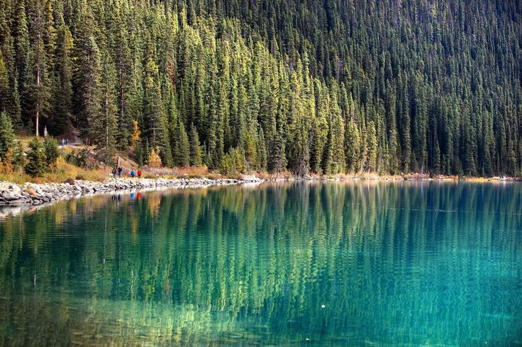 Lake in Rockies Photo by Yan Gao — National Geographic Your Shot