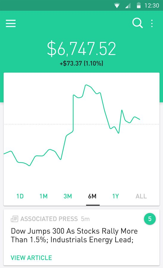 Robinhood - Free Stock Trading – скриншот