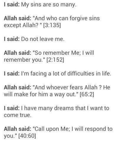 Beautiful! Allah is so merciful. http://www.islamic-web.com/allah-god/faith-is-god-real-existence/