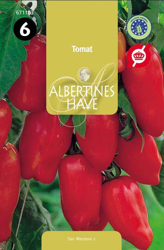 Økologiske frø Tomat San Marzano 2