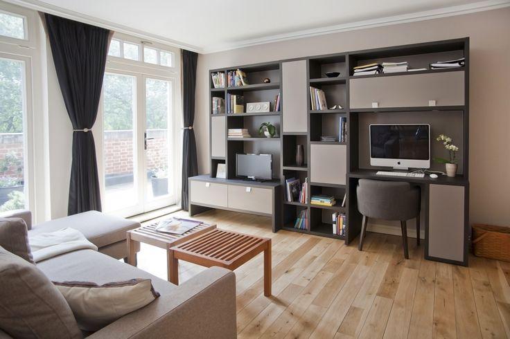 Paolo Marchetti Interiors | Day System TV & home office unit L 033