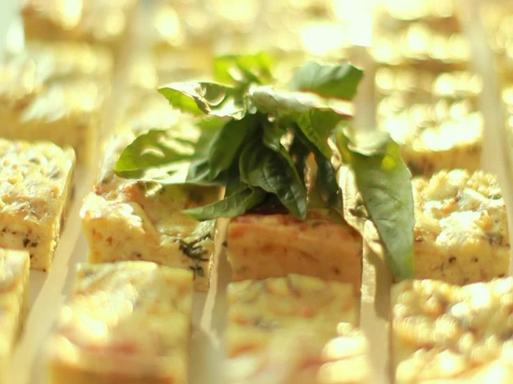 potato basil frittata squares recipe from ina garten via food network - Food Network Com Barefoot Contessa Recipes