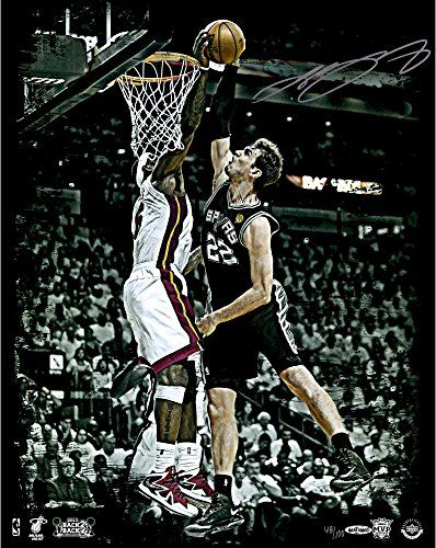 "LeBron James Miami Heat 2013 Back to Back Autographed 16"" x 20"" The Block Photograph-Limited Edition of 100 - Fanatics Authentic Certified -- You can get more details by clicking on the image."