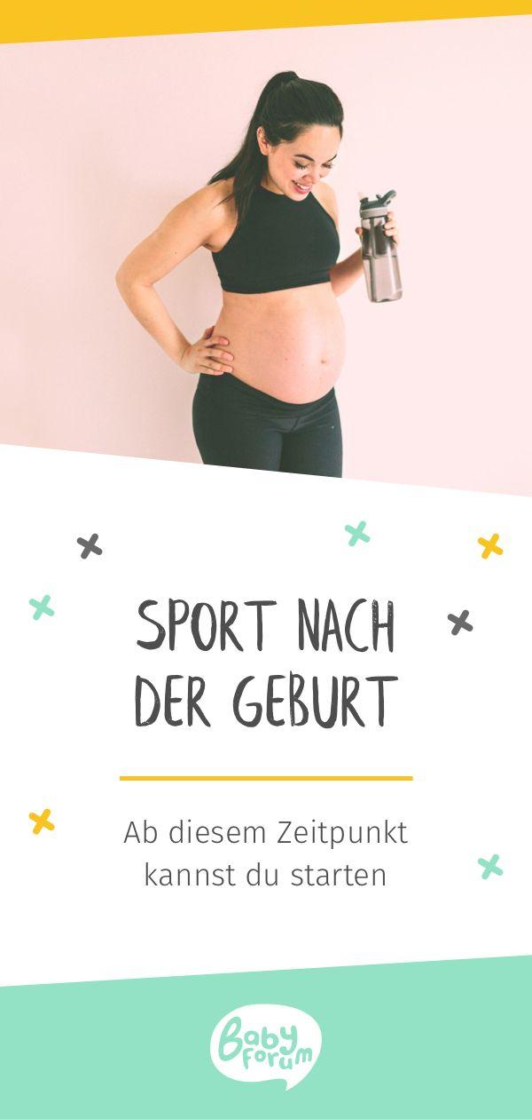 Sport nach der Geburt: So starten Sie sicher nach dem Schwung    – Baby