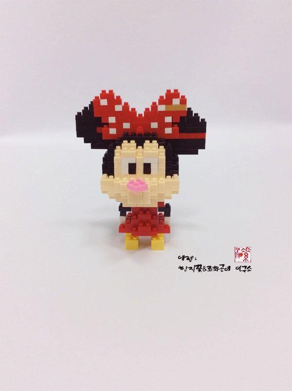 나노 미니 블럭 미니마우스 (nano block mini mouse)   http://blog.naver.com/koreapaperart                                                #나노블럭 #미니블럭 #주문제작 #수강문의 #miniblock #nanoblock #인테리어소품 #촬영소품 #광고소품