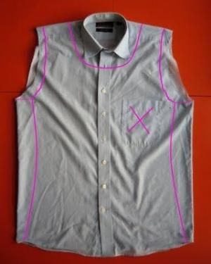 Cosas Pequeñas: Hombres camisa remodelar por enid
