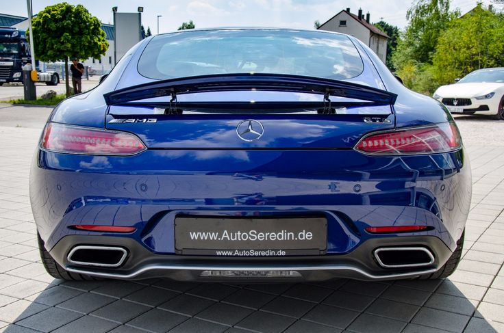 MERCEDES-BENZ AMG GT S NEU SERVICE BURMESTER PANORAMA    -- Export price: 104.455 €--  Stoсk №: B555    Fuel consumption (in town): 9.4 l/100 km | CO2 emissions: 219 g/km | Energy efficiency class: G | Fuel type: Benzin, Super     #mersedes #benz #BRILLANTBLAU #amg #gt #autoseredin #Luxurycars #Premiumcars