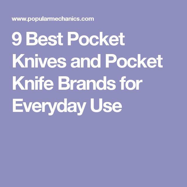 9 Best Pocket Knives and Pocket Knife Brands for Everyday Use