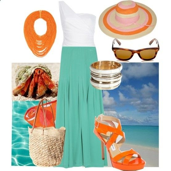 Example of a daytime cruise wear look and a suggested Cruise Packing List