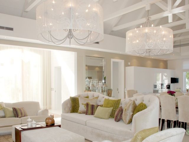 Beautiful Interior on Val de Vie Estate homes.