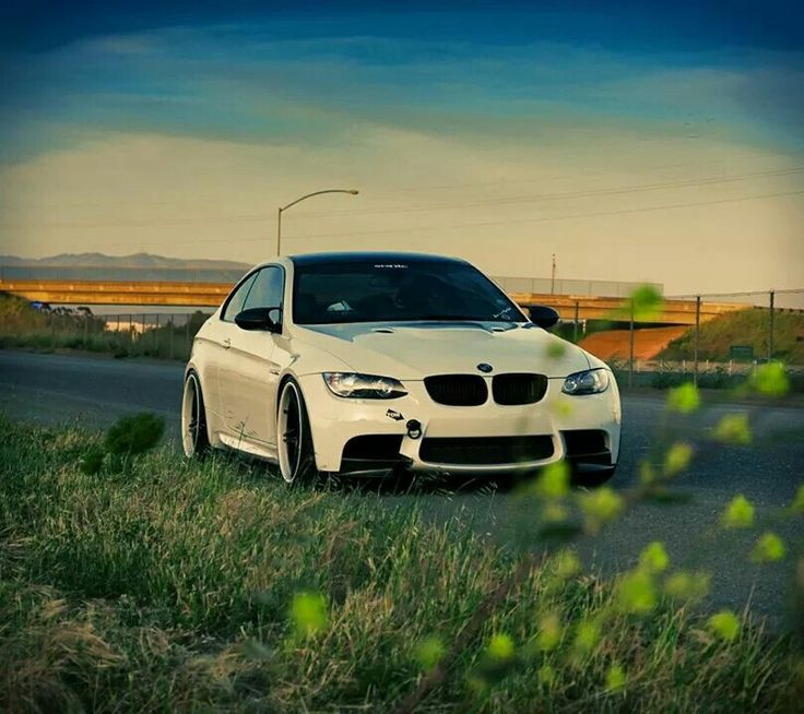 Superb BMW E92 M3 White
