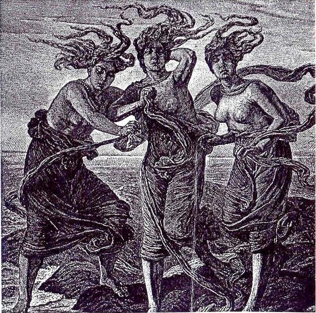 The three fates, the three muses, the three wise women ~ heed their wisdom and power!