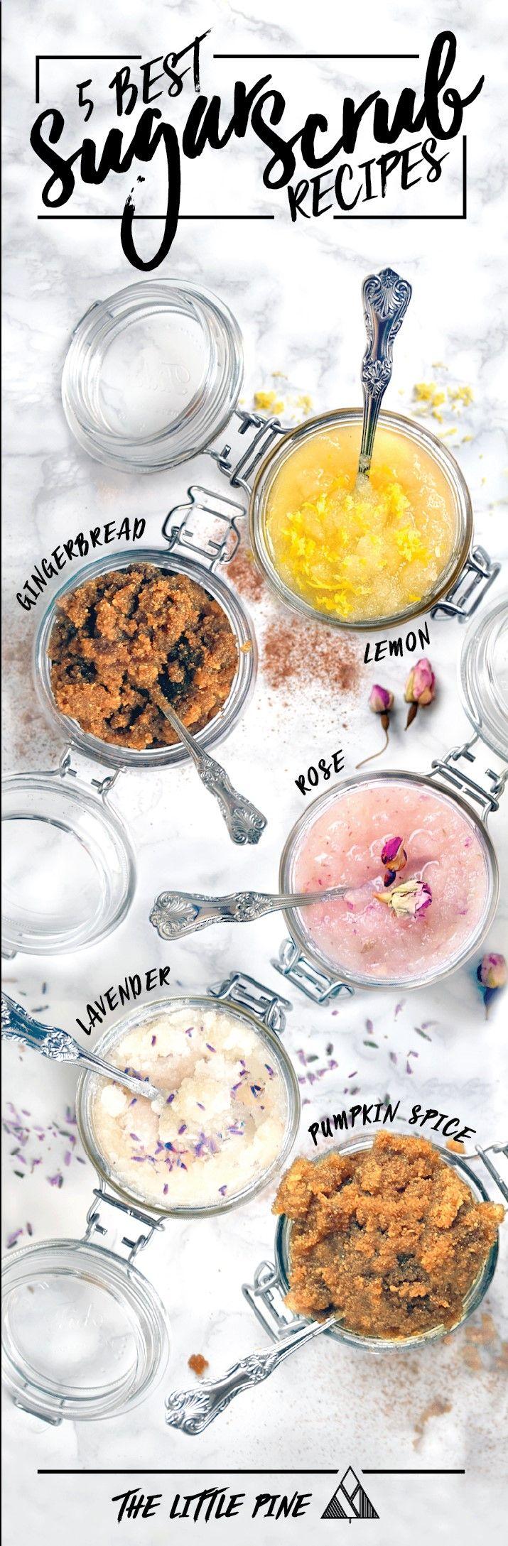 Homemade Sugar Scrub Recipe | The Little Pine