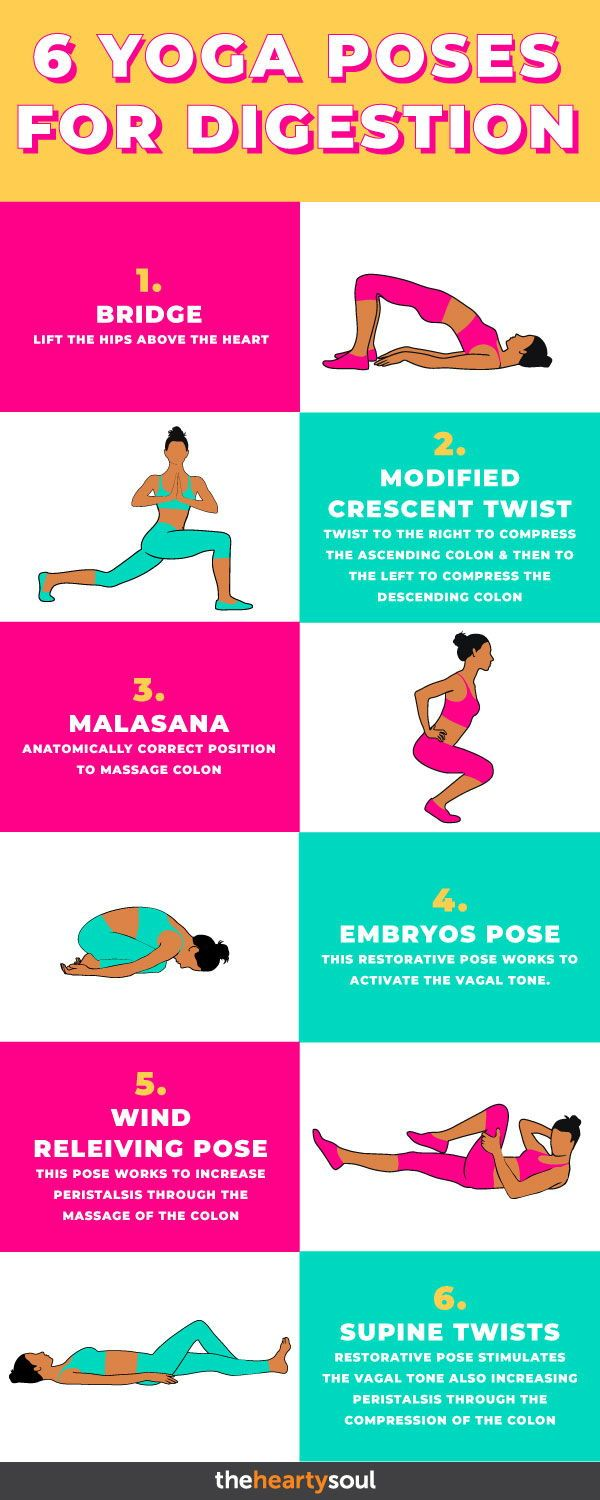 41 Yoga Poses To Instantly Get Rid Of Uncomfortable Bloating  Yoga
