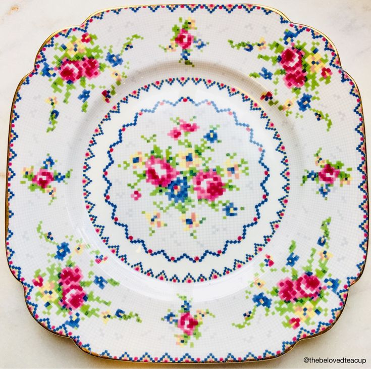 A personal favorite from my Etsy shop https://www.etsy.com/ca/listing/578786816/royal-albert-bone-china-petit-point