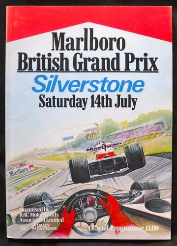 BRITISH GRAND PRIX SILVERSTONE F1 RACE PROGRAMME 1979 | eBay