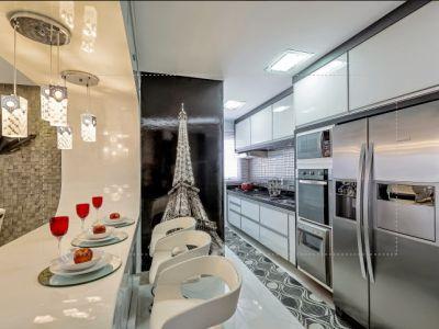 cozinha corredor e atual realidade da maioria dos apartamentos que ...