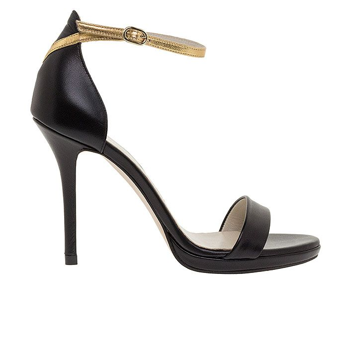 1008B25-BLACK LEATHER www.mourtzi.com #sandals #heels #mourtzi #greekdesigners