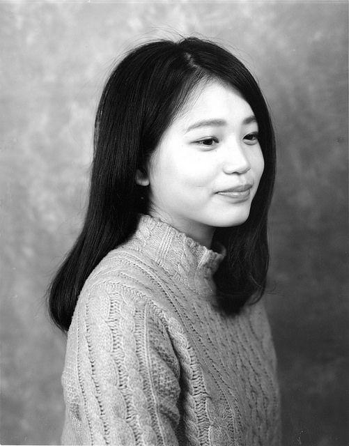 Japanese woman | Black & White | Large Format | 4x5 | Portrait