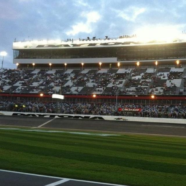 Daytona Speedway, 2nd race I've been too <3