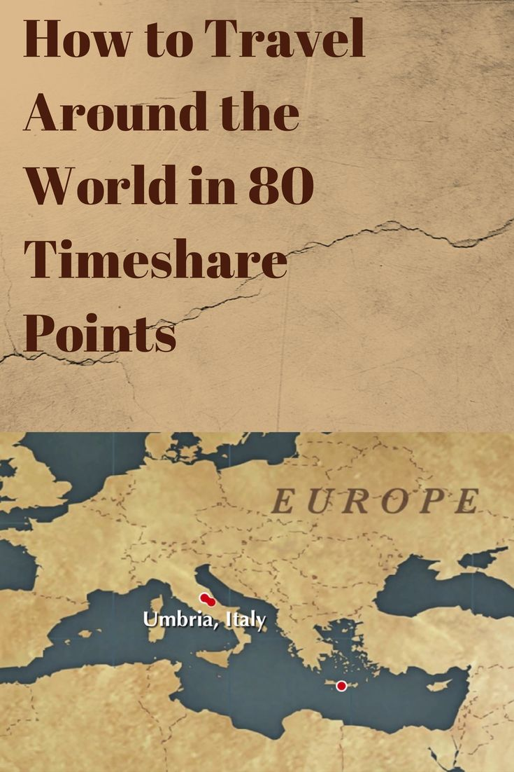 Travelling around the world with #timeshare points. #video #howto #tips