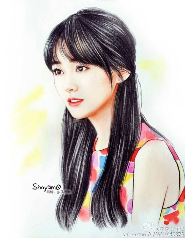 Wallpaper Cute Korean Girl Cartoon Picture Chinese Drama In 2019 Art Art Drawings Drawings