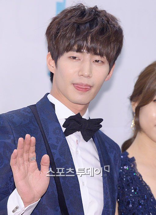 Song Jae Rim at MBC Entertainment Awards