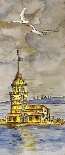 PuzzleGaleri Blog: Kız Kulesi'nin ölümsüz aşk efsanesi!