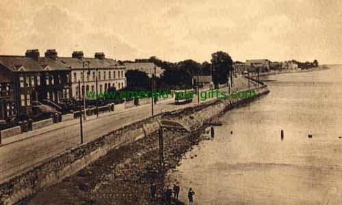 Clontarf is a coastal suburb on the northside of Dublin, Ireland. It is most famous for the Battle of Clontarf in 1014 where Brian Boru, High King of Ireland defeated the Viking invaders. The Battle of Clontarf is seen as marking an end to the Irish-Viking Wars. 1905
