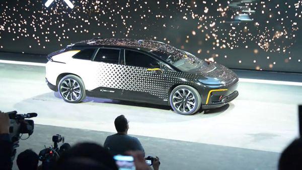 Faraday Futures FF91 EV Electrical Car