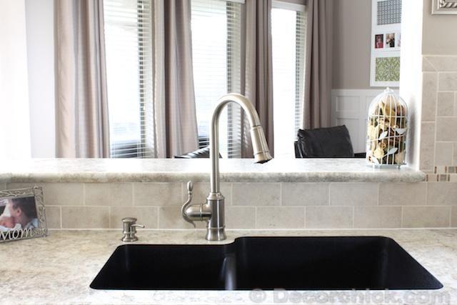 Undermount Karran Sink with Formica 180fx Crema Mascarello