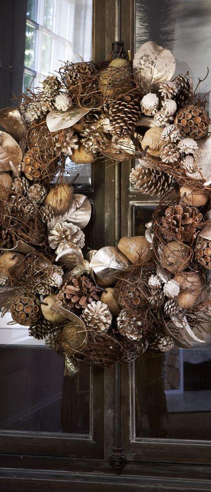 Natural Wreath | #rustic #fall