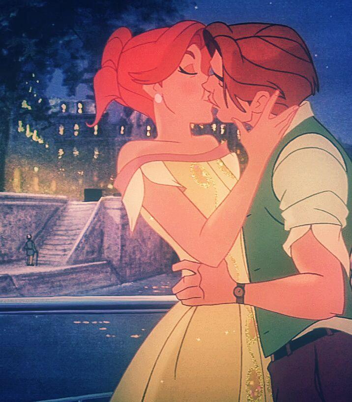 *ANASTASIA & DIMITRI ~ Anastasia, 1997....Turns out, Princesses DO marry Kitchen Boys..... ;D