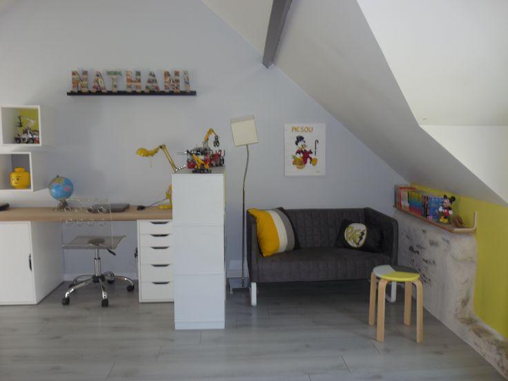 Une chambre d'enfant transformée en chambre de pré-ado près de #Nantes (44) par @KiosqueDeco http://www.kiosquedeco.fr/decoration/designsentry_portf/une-chambre-denfant-transformee-en-chambre-de-pre-ado-a-suce-sur-erdre-44/#more-977