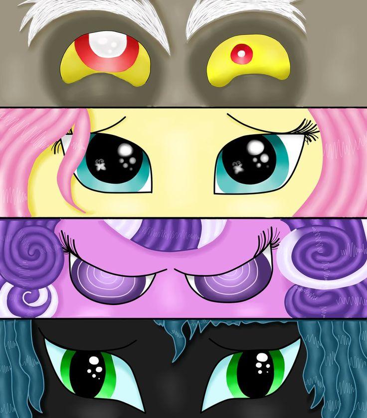 My Little Pony список персонажей