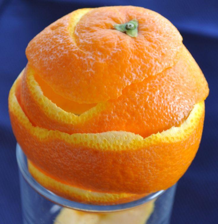 Naranja vacia