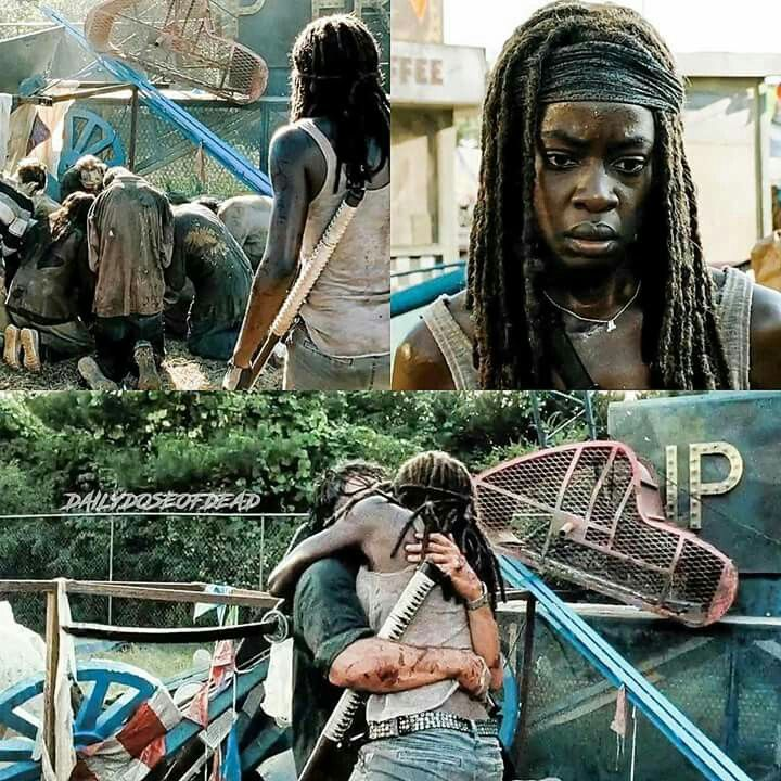 I legit almost cried, but then I was like they can't kill Rick. And then I was straight