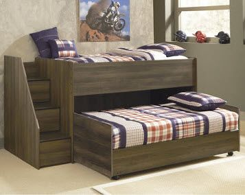 Has your little guy grown out of his toddler #bed and you're looking for something a little more mature looking? Browse from our wide selection of themed bed sets to get started.