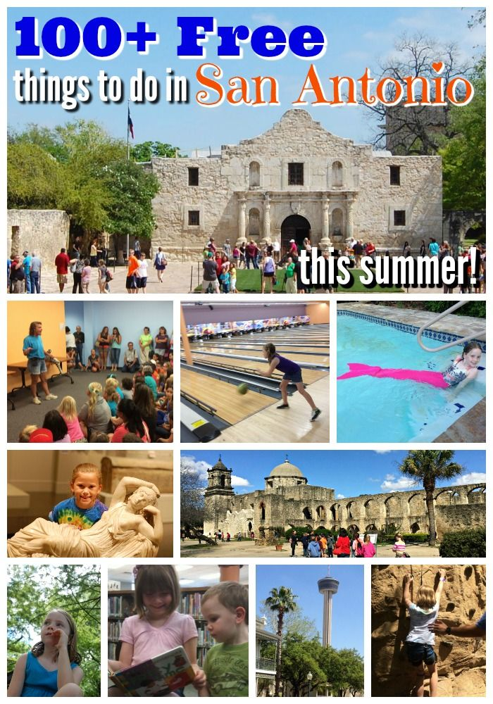 100+ free things to do in San Antonio this summer 2016 || Thank you @colleenpence for the awesome list!