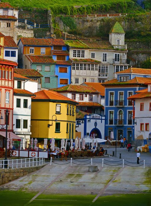 Cudilero village, Asturias, Spain
