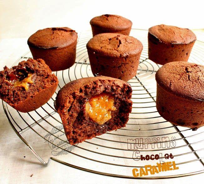 Il était une fois la pâtisserie...: Muffins chocolat caramel