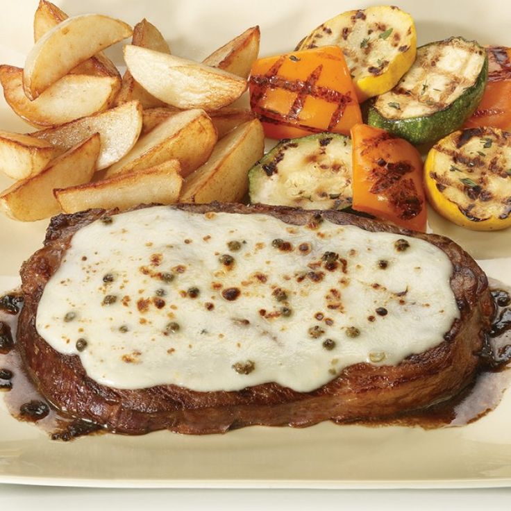 Beef Rib Steak With L'Extra Grand Camembert