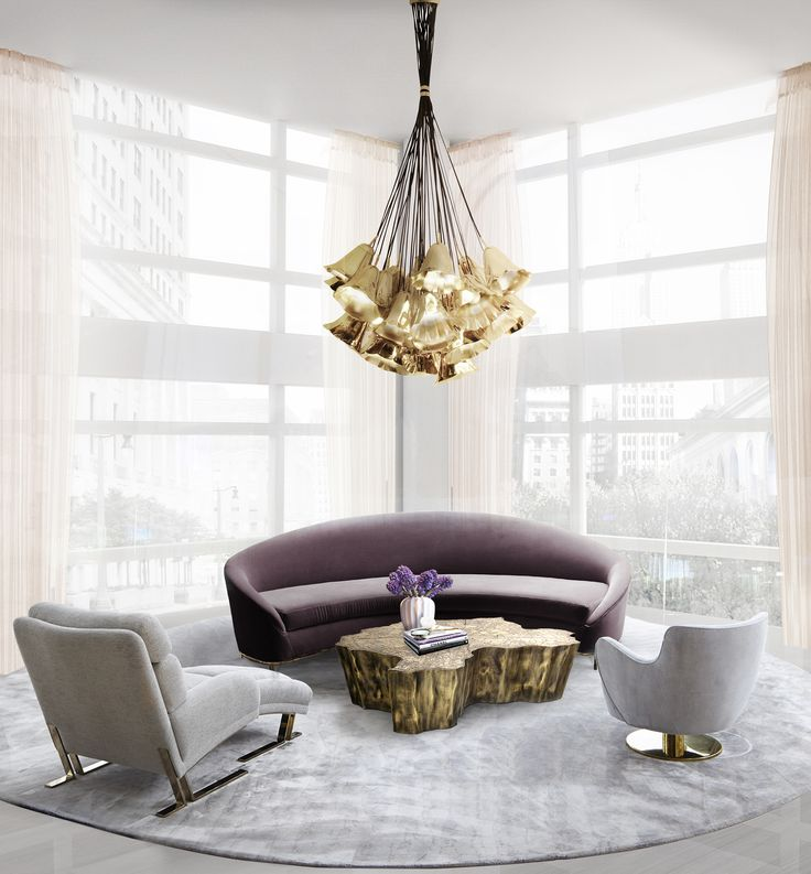 Projects with gia chandelier vamp sofa