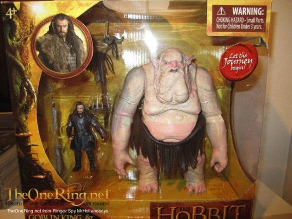 FIRST LOOK AT THE HOBBIT'S GOBLIN KING