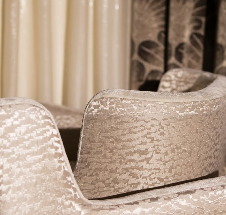 Armchairs: REVE DE ROTONDE, M107903, Textured design