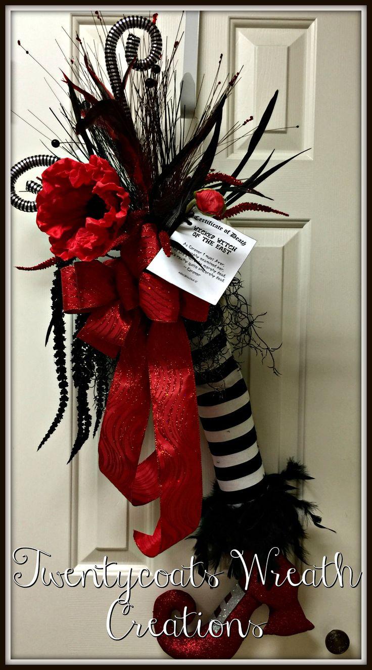 halloween movie wreaths