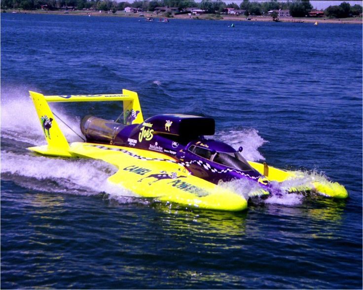 """CAMEL SMOKIN' JOE's"" - Jet Turbine Powered Unlimited (H1) Class Hydroplane"